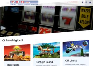 Screenshot nuovo sito web